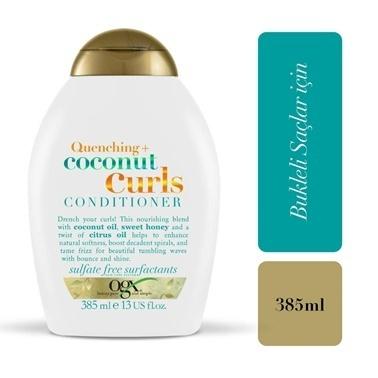 Organix Quenching+Coconut Curls Bukleli Saç Kremi 385 ml Renksiz